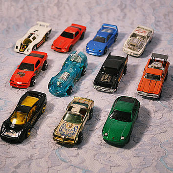 FREE SHIPPING Vintage Hot Wheels, Majorette, Die Cast Cars, 1970's-1990's Toy Cars, Mattel