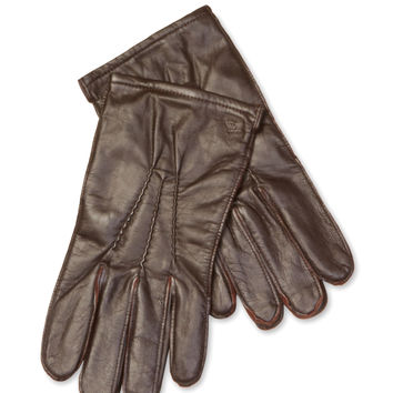 Original Penguin Men's Leather Glove - Brown -