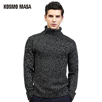 Autumn Winter Pullover Sweater For Men Brand Clothing Jumpers Jacquard Christmas Slim Fit Men's Sweaters