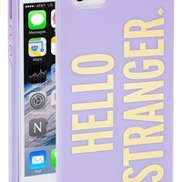 Women's kate spade new york 'hello stranger' iPhone 5 & 5s case - Purple