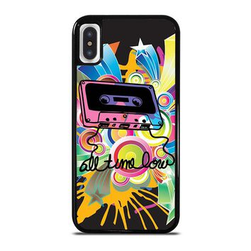 ALL TIME LOW RETRO CASSETE iPhone X Case Cover