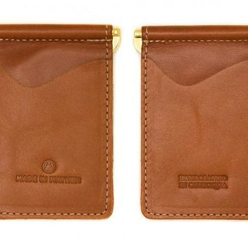 Made In Mayhem - Madison Money Clip Wallet (Whiskey)