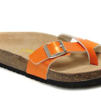 Birkenstock Piazza Sandals Artificial Leather Jacinth - Ready Stock