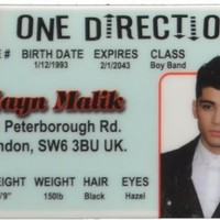 Zayn Malik ID - One Direction Band