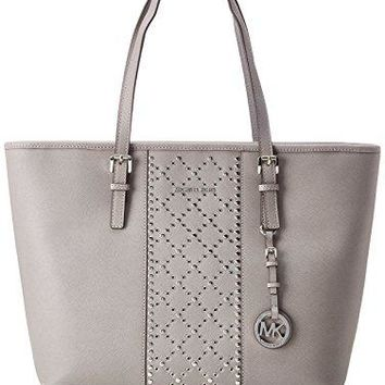 MICHAEL Michael Kors Jet Set Travel Top-Zip Grommet Tote  Michael Kors bag