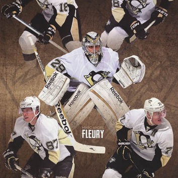 Pittsburgh Penguins NHL Hockey Poster 22x34