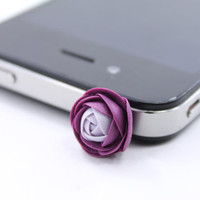 Floral Earphone Plug - iphone  Accessories, Smart phone Accessories