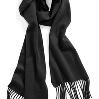 Women's Nordstrom Solid Woven Cashmere Scarf