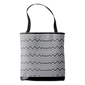 GS Static Minor Monogram Tote Bag
