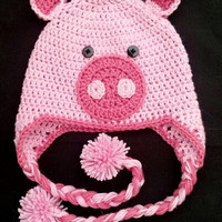 Pig Ear Flap Hat