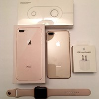 "Iphone 8 Plus Gold 5.5"" 256 GB GSM Unlocked Gold 