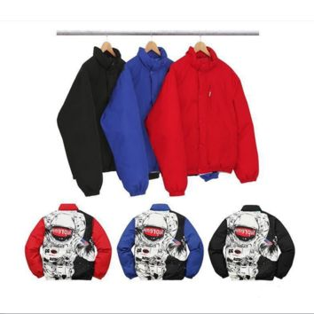 Supreme Tide brand down jacket plus cotton thick jacket winter cold jacket men and women cotton clothing couple clothing
