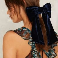 Lena Bernard Major Crush Velvet Hair Bow