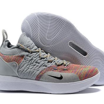 Nike Kevin Durant Kd 11 Basketball Shoe Cool Gray