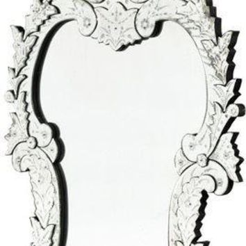 Antiqued Palace Venetian Mirror