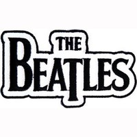 The Beatles Name Logo iron or sew on Patch p1121