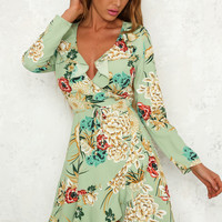 Romeo And Juliet Dress Green
