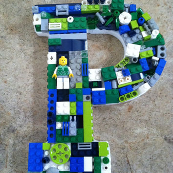 Custom Lego letters set.  P.  L