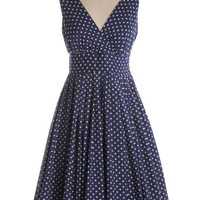 April Showers Dress in Navy - $74.95 : Indie, Retro, Party, Vintage, Plus Size, Convertible, Cocktail Dresses in Canada