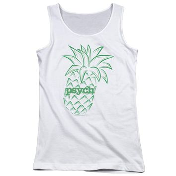 Psych - Pineapple Juniors Tank Top Officially Licensed Apparel