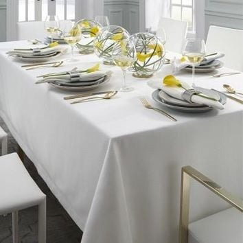 Blaine Tablecloths & Napkins by Sferra