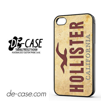 Hollister For Iphone 4 Iphone 4S Case Phone Case Gift Present YO