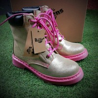 Best Online Sale Newest Dr. Martens Modern Classics 1460 Gold Pink Boost 524955
