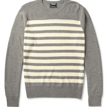 Todd Snyder - Striped Knitted Merino Wool Sweater | MR PORTER