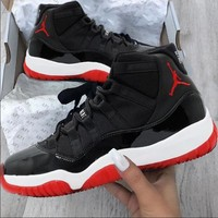 Air Jordan 11 AJ11s Fashion  Men Women Sneakers Basketball Sport Shoes I/A