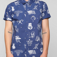 Kr3W Delmano Icon Button-Down Shirt  - Urban Outfitters