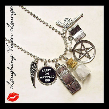 Supernatural Protection Necklace - Style G - Rock Salt Necklace