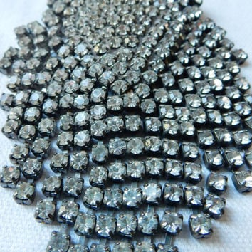 Art Deco Brooch Gorgeous Large Art Deco Rhinestone Brooch Rhinestone Jewelry Bridal Hairpiece Bridal Bouquet