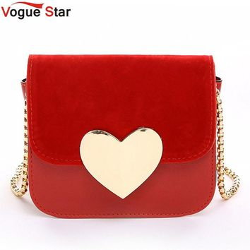 !evening bag Peach Heart bag women pu leather handbag Chain Shoulder Bag messenger bag fashion women clutches YK40-906