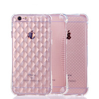 Transparent Clear Soft Silica Gel TPU Case Silicone Cover for iPhone 5 5s 6 6 Plus Ultra Thin Mobile Phone Case 2016 Hot Sale