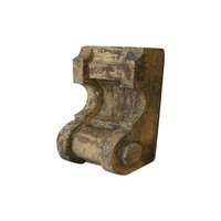 Pre-owned Antique Wooden Corbel Architectural Salvage