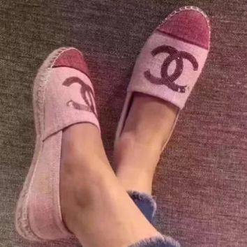'' CHANEL '' Feminine Stylish Comfortable Flats F