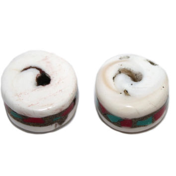Conch shell Beads Coral Turquoise Beads Nepal beads