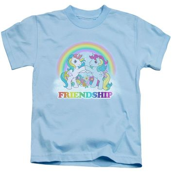 My Little Pony Boys T-Shirt Friendship Light Blue Tee