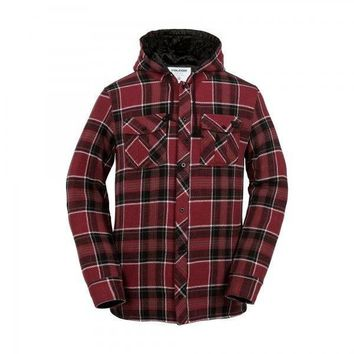 Volcom Burl Insulated Flannel Jacket