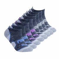 Puma Ladies 8-pair No Show Athletic Socks for Women