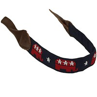 GOP Needlepoint Sunglass Strap by 39th Parallel