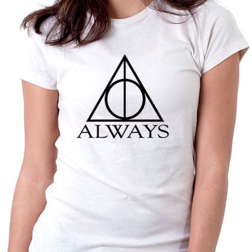 Always Harry Potter Ladies White T-Shirt