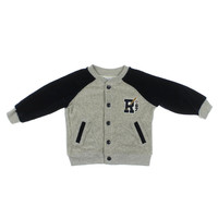 Ralph Lauren Velour Infant Boys Coat