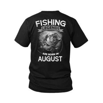 ESBV4S Fishing Legends Are Born In August Shirts