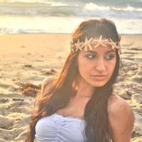 Mermaid Queen Starfish Hipster Headband