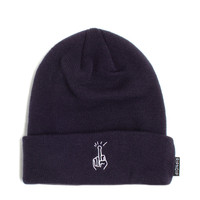 Phone Home Beanie (Navy)