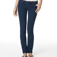 Aeropostale  Womens Lola Destroyed Medium Wash Jeggings