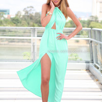 ISLA TWIST MAXI DRESS , DRESSES, TOPS, BOTTOMS, JACKETS & JUMPERS, ACCESSORIES, $10 SPRING SALE, PRE ORDER, NEW ARRIVALS, PLAYSUIT, GIFT VOUCHER, $30 AND UNDER SALE,,MAXIS Australia, Queensland, Brisbane