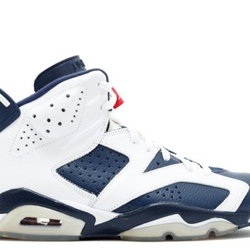 "Air Jordan 6 Retro ""Olympic 2012 Release"