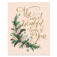 The Most Wonderful Time of The Year - Print & Canvas